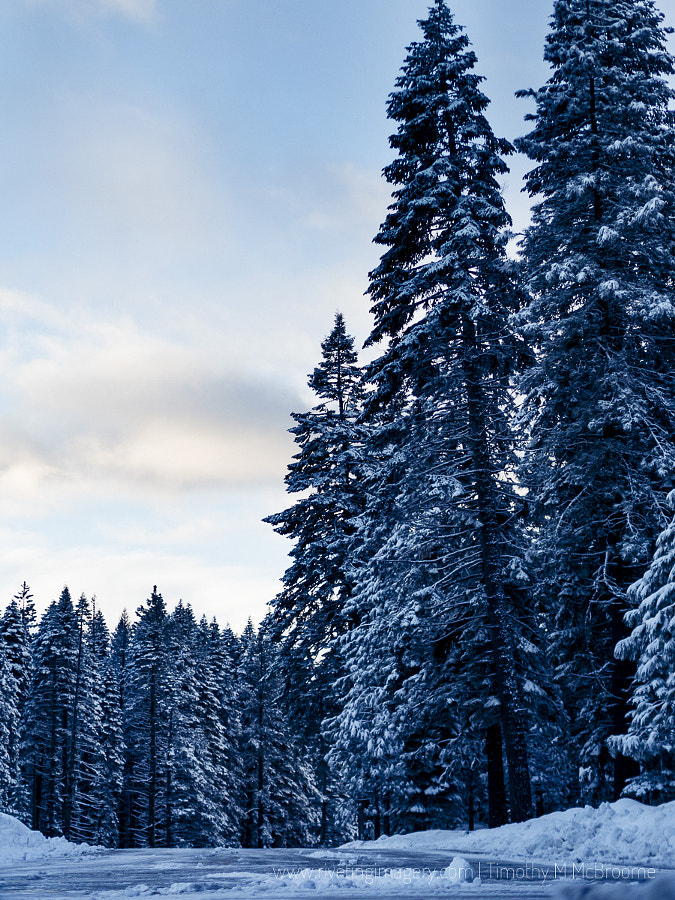 Winter in Lassen National Park