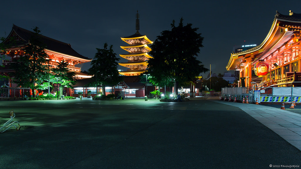 Photograph Color of Asakusa by Fanougraphie * on 500px