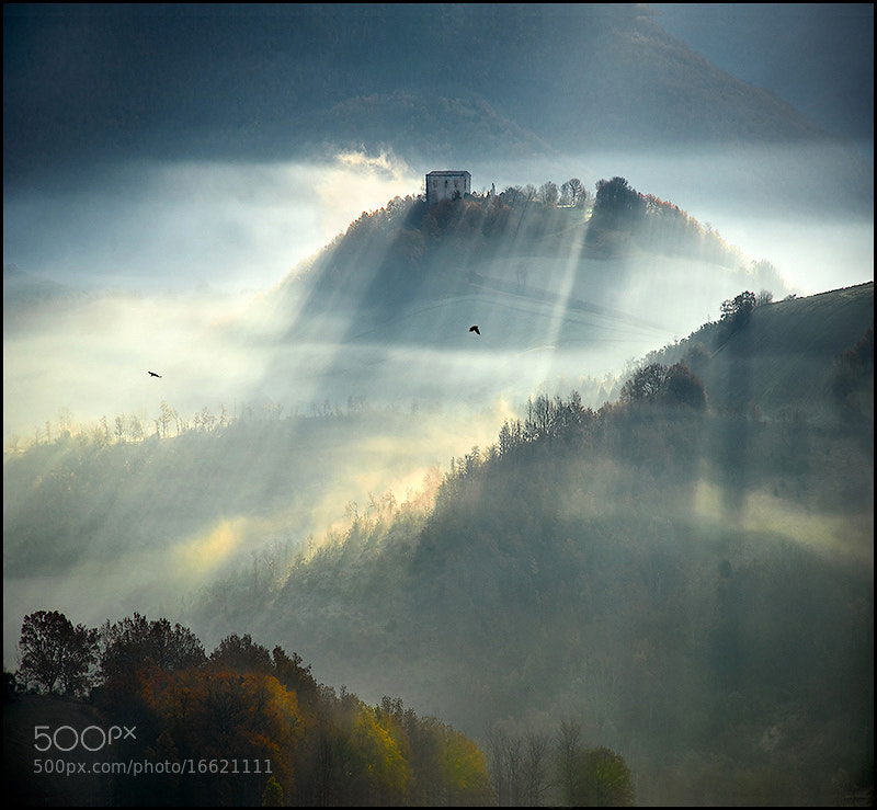 Photograph The house on the hill by Alessandro Ferretti on 500px