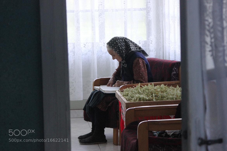 Photograph Grandmother Reading Bible by Dan Podina on 500px