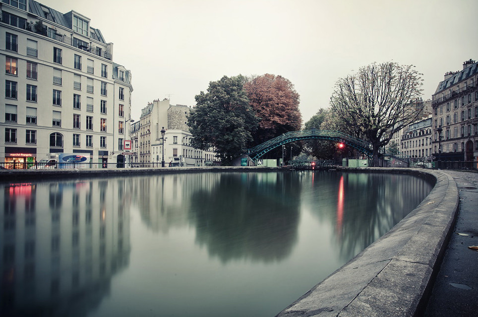 Photograph The morning rise on the Canal Saint Martin by Laurent DUFOUR on 500px