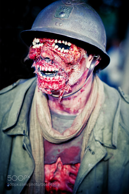 Photograph Zombie Soldier by Laurent DUFOUR on 500px