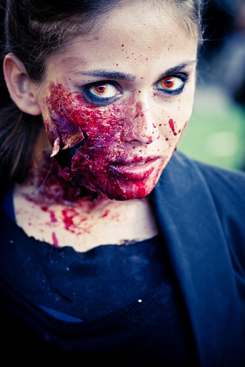 Photograph Zombie Girl #1 by Laurent DUFOUR on 500px