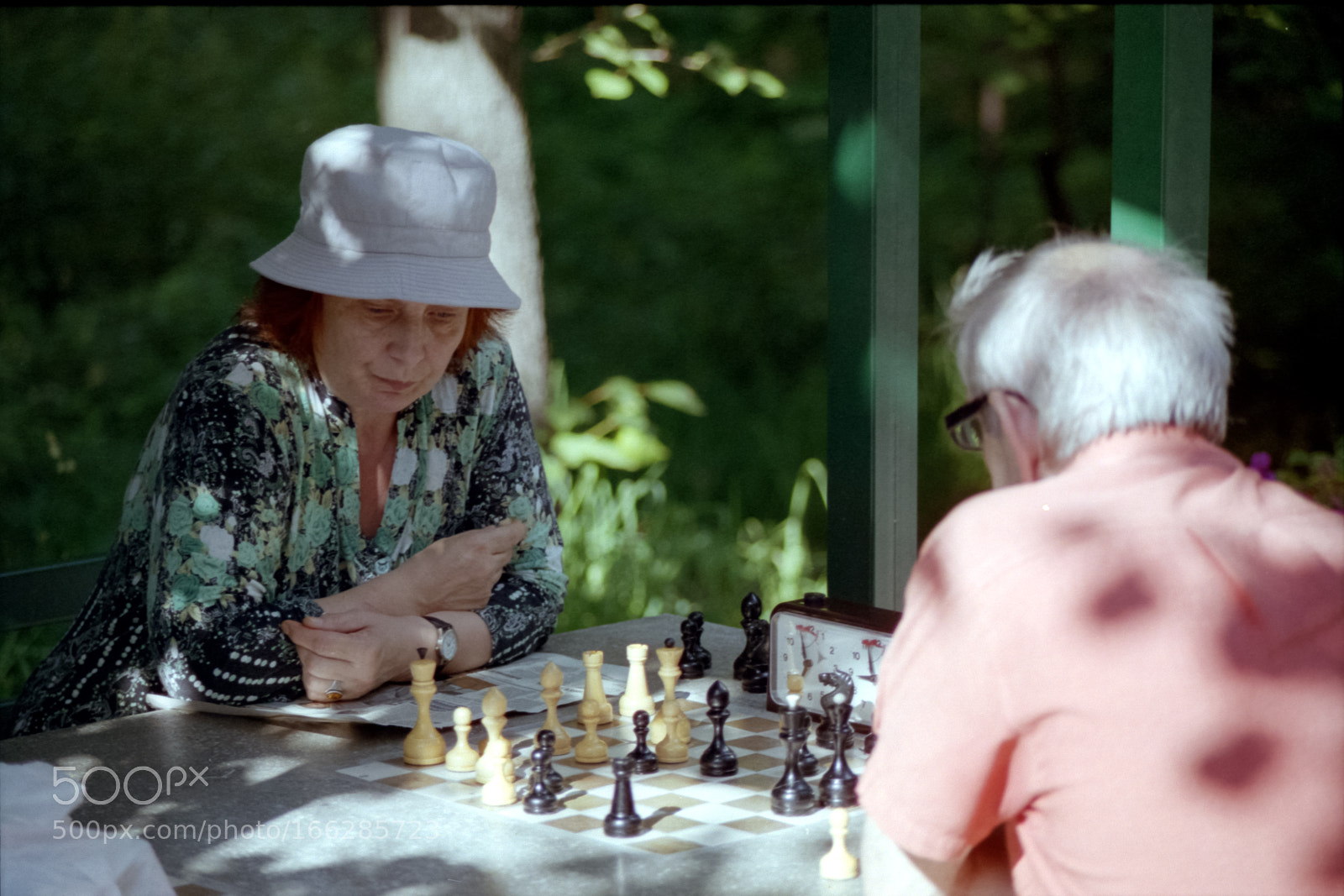 """Canon EOS 55 sample photo. """"«game of chess»"""" photography"""