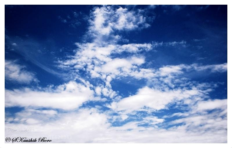 "Photograph ""BLUE SKY"" by Shantanu Kaushik B. on 500px"
