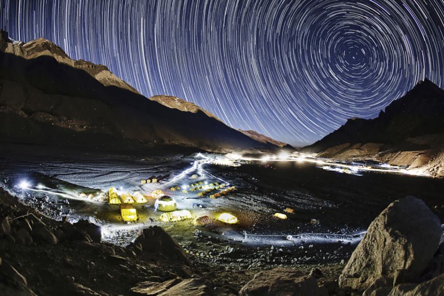 Base Camp magic by Red Bull Photography on 500px.com