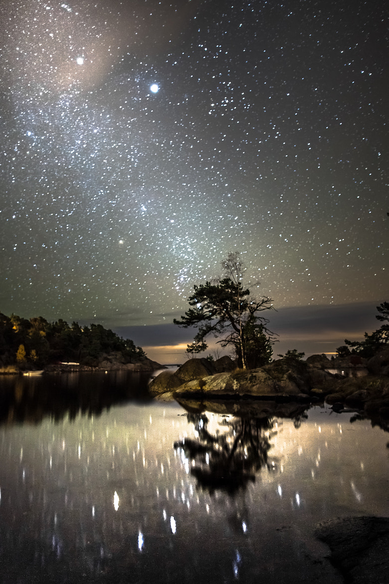 Photograph October night by Tore Heggelund on 500px