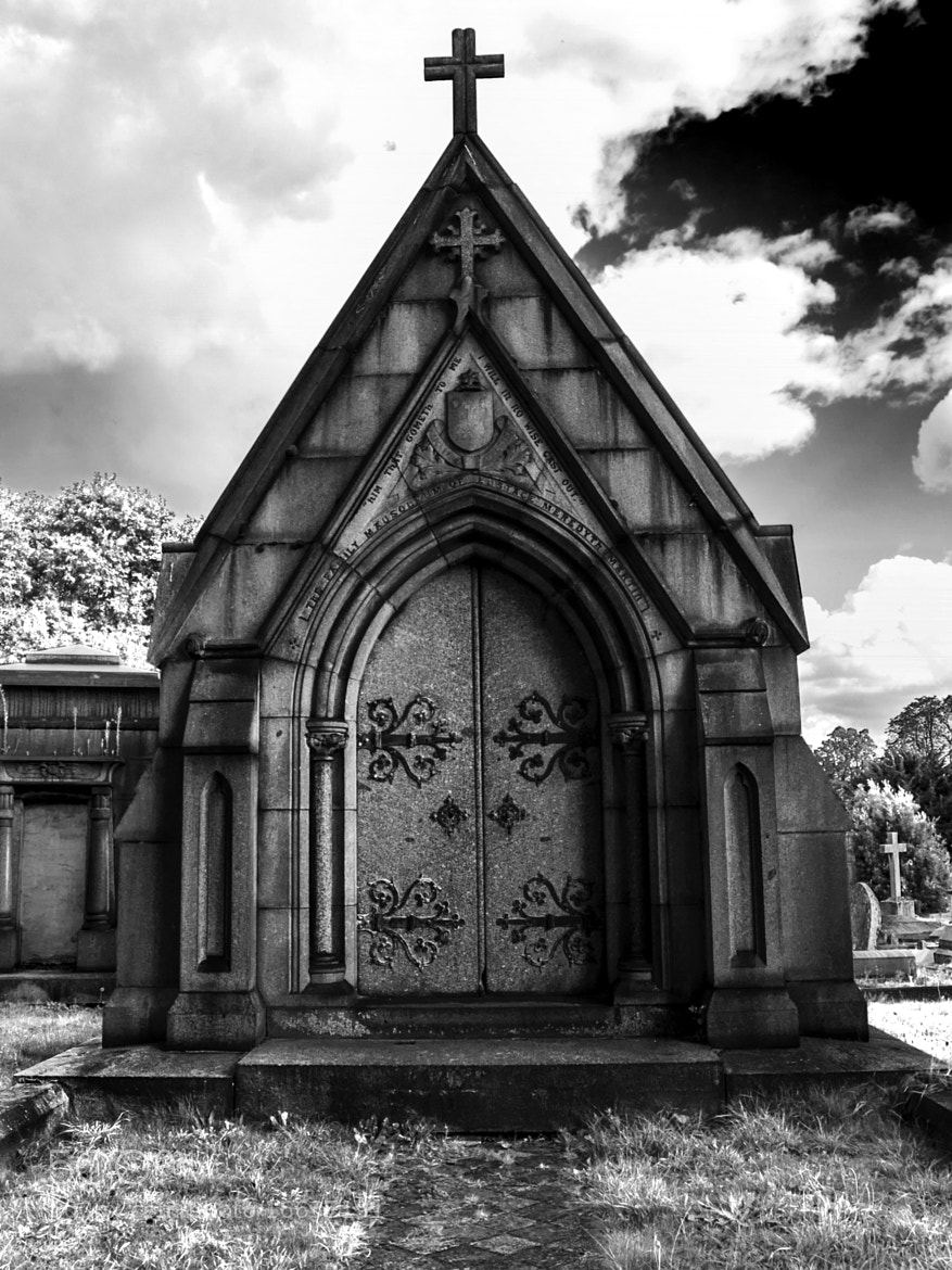 Photograph Mausoleum Kensal Green Cemetary by Chris Maskell on 500px