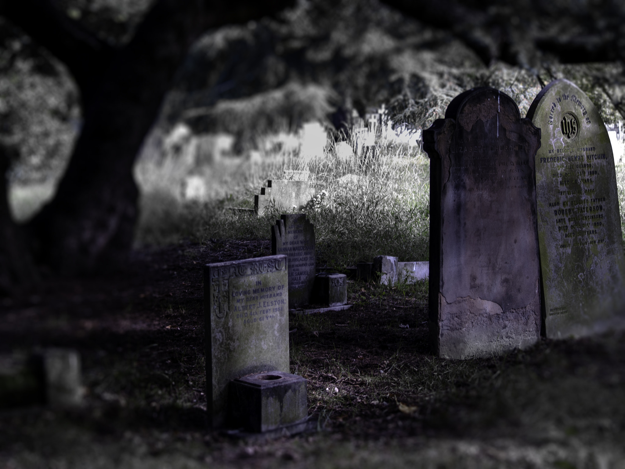 Photograph Cemetery by Chris Maskell on 500px