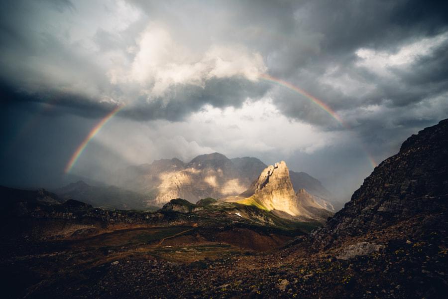 Rainbow over the Grand Serus by Federico Ravassard on 500px.com