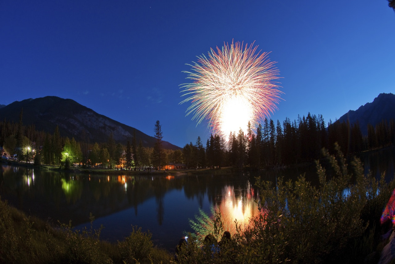 Photograph Banff Canada Day by Ryan Veldkamp on 500px