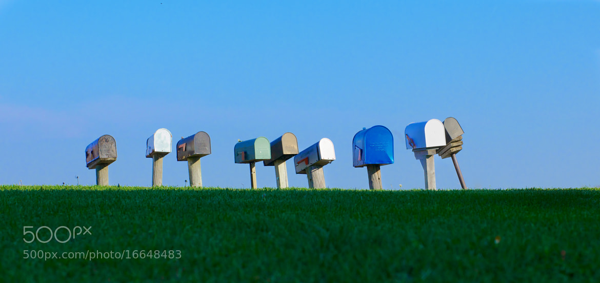 Photograph mailbox etc. by mitch aunger on 500px