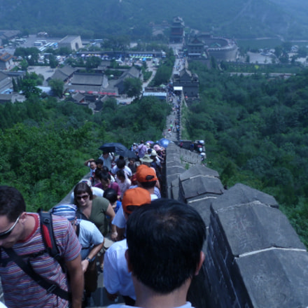 Crowded Great Wall, Panasonic DMC-ZS6