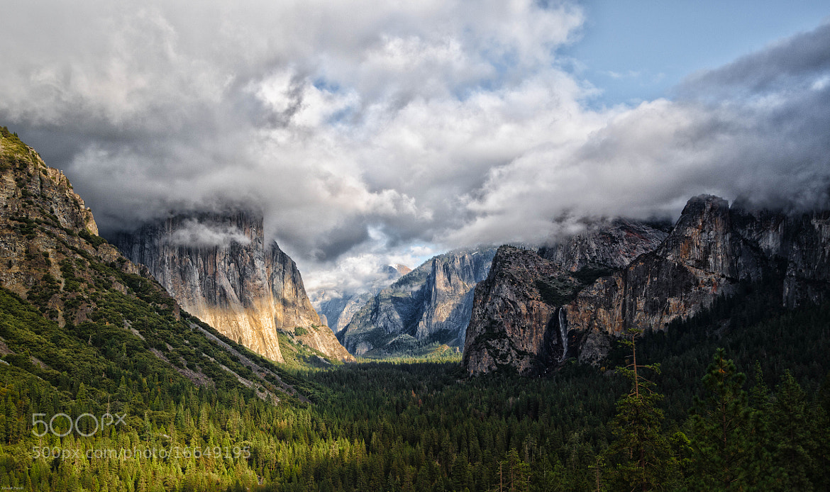 Photograph Yosemite Tunnel View by Ani Pandit on 500px