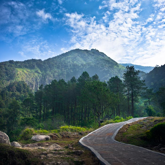 Photograph gedong songo, ungaran by c.w. sani on 500px