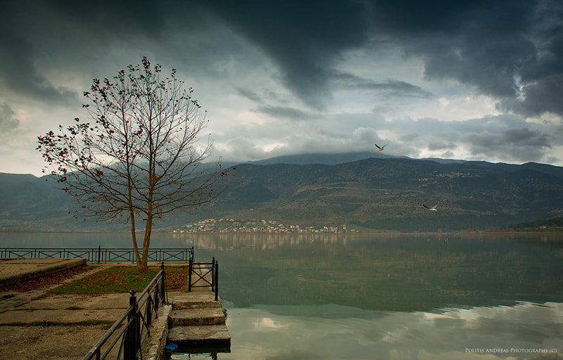 Photograph Pamvotida Lake by Andreas Politis on 500px