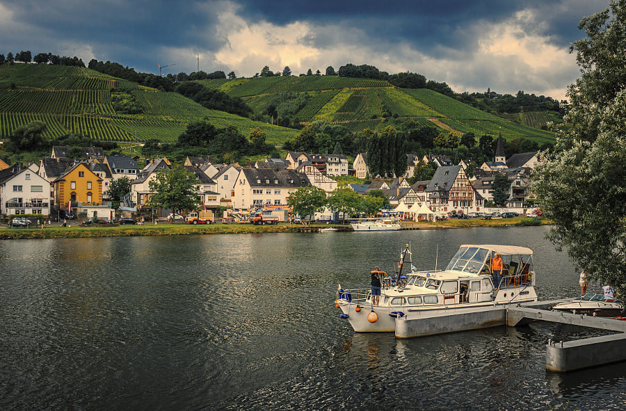 The Moselle, at Kaimt, Germany by Son of the Morning Light on 500px.com