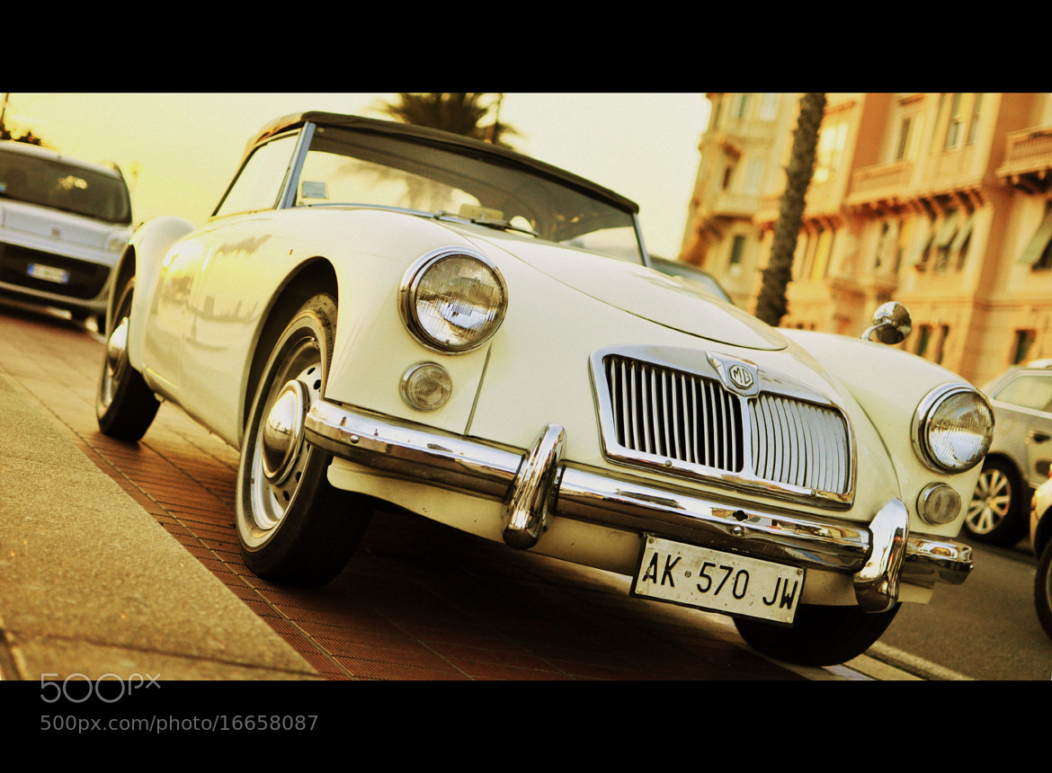 Photograph MG car in Genoa by Daniele P. on 500px