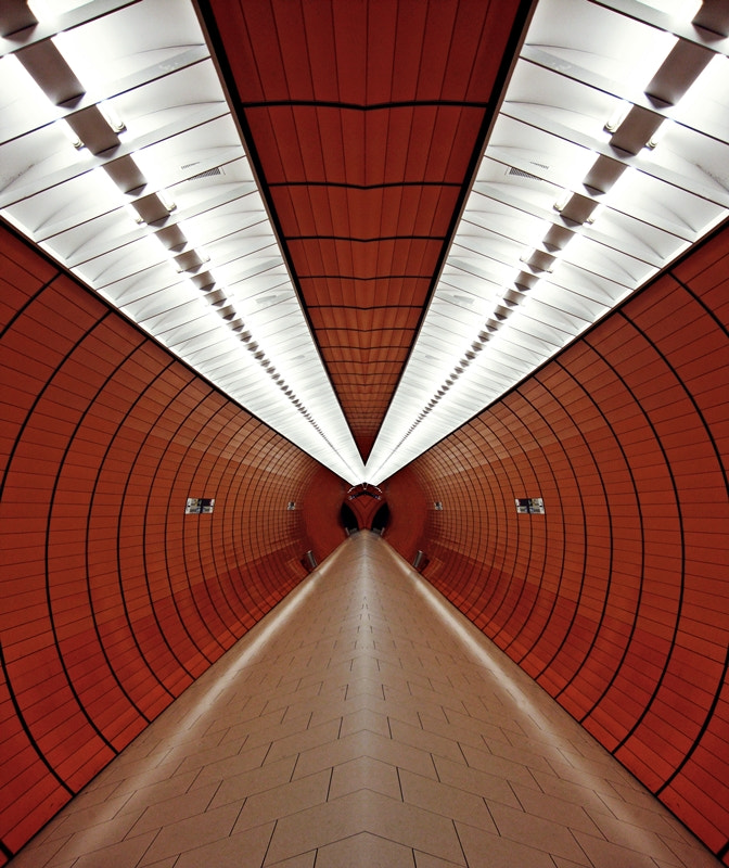 Photograph Space Tunnel by Cs. H. on 500px