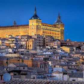 Alcazar de Toledo (Spain) by Domingo Leiva (dleiva)) on 500px.com