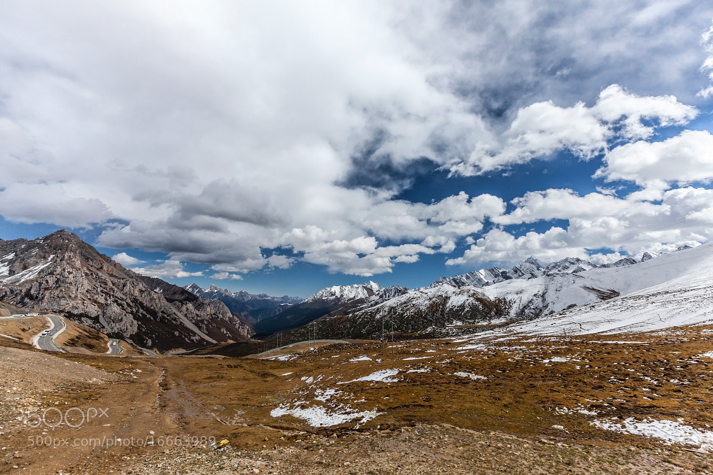 Photograph Xuebaoding peak by Sasipa Muennuch on 500px
