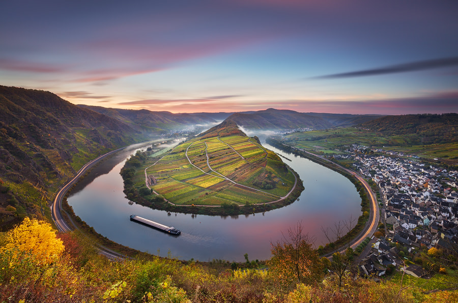 Photograph Mosel Bend by Michael  Breitung on 500px