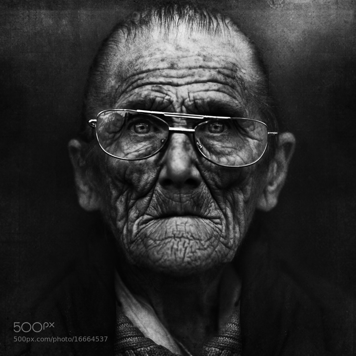Photograph Mary. by Lee Jeffries on 500px