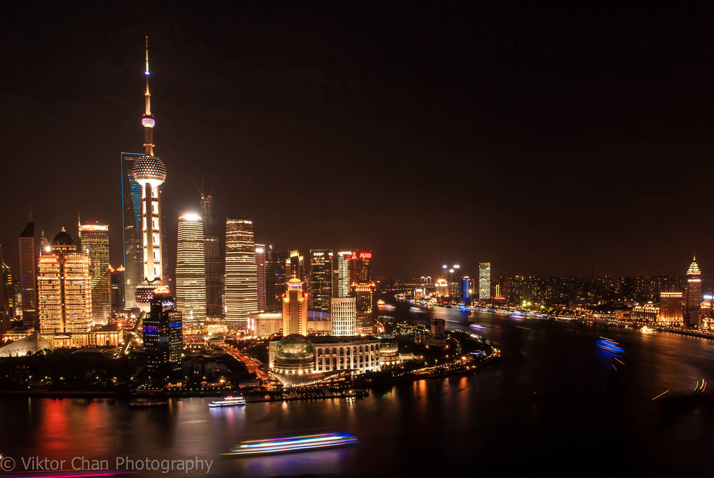 Photograph Shanghai nights by Viktor Chan on 500px