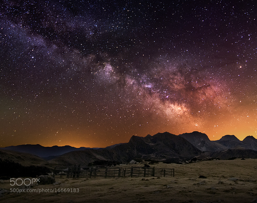 Photograph Milky way by inigo cia on 500px