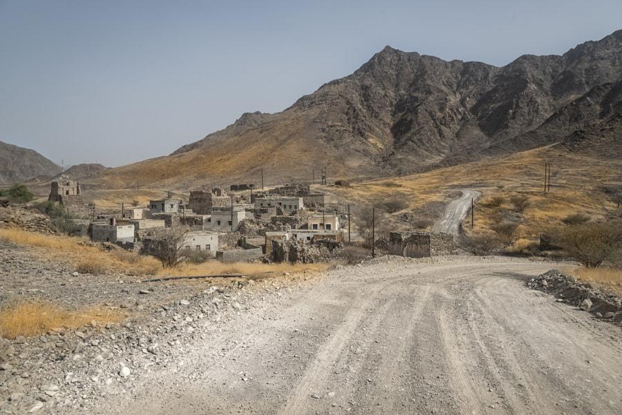 Ruins in Wadi Hoqain
