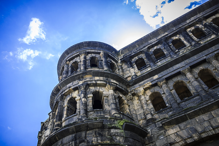 Porta Nigra #2 by Son of the Morning Light on 500px.com