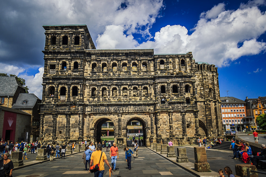Porta Nigra by Son of the Morning Light on 500px.com