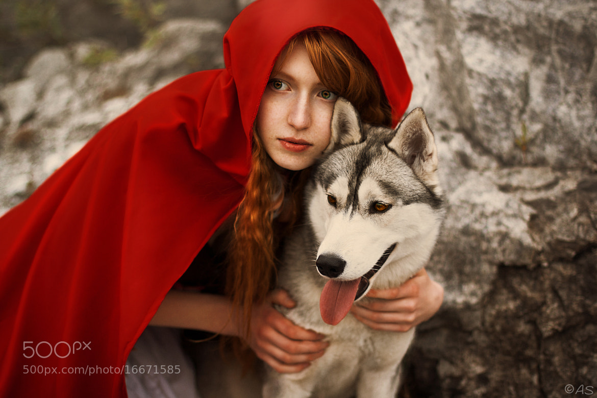 Photograph Red riding hood by Anya Sergeeva on 500px