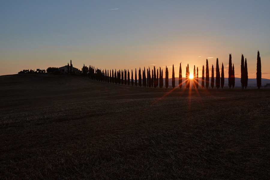 A Tuscan sunrise