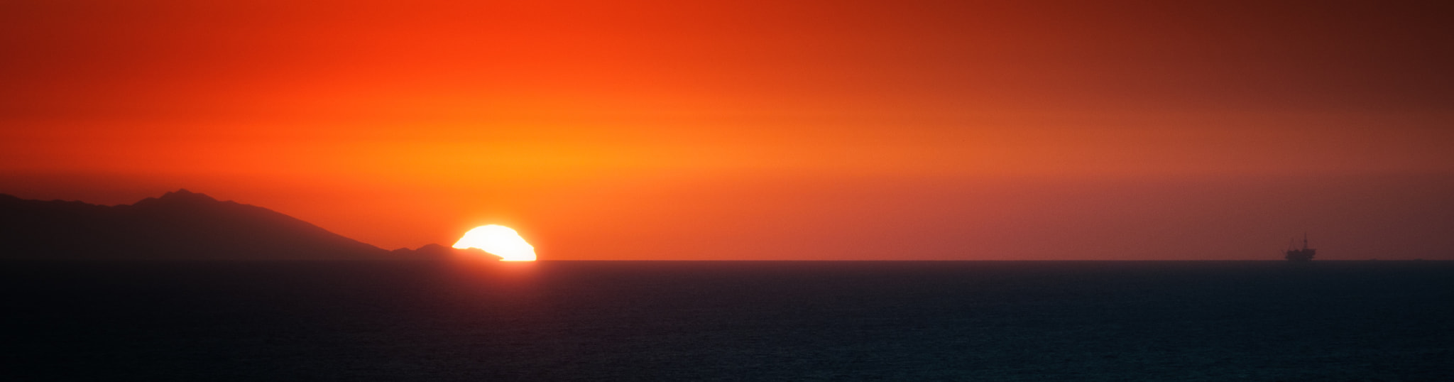 Photograph Sunset Over Catalina by Duane Bender on 500px