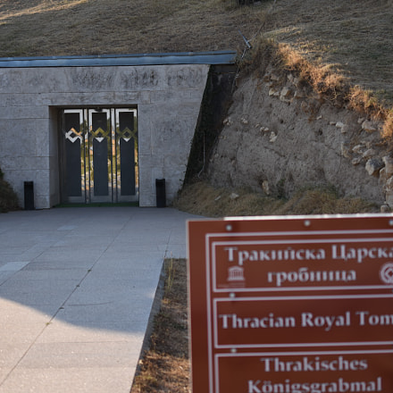 Thracian royal tomb entrance