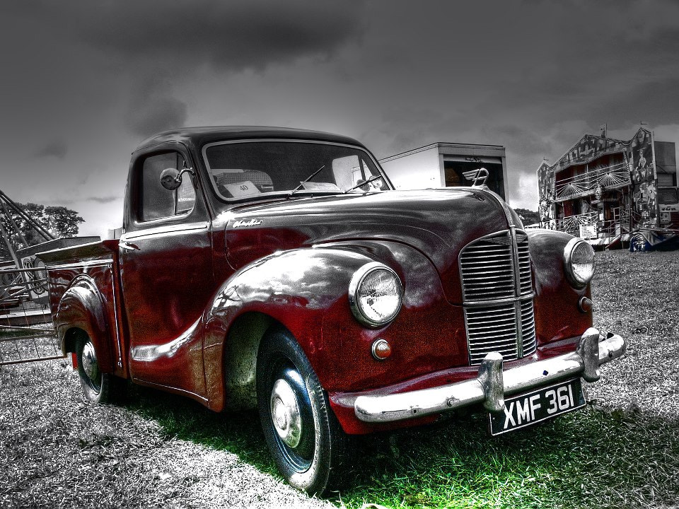Photograph Old Red by Garry Atkinson on 500px
