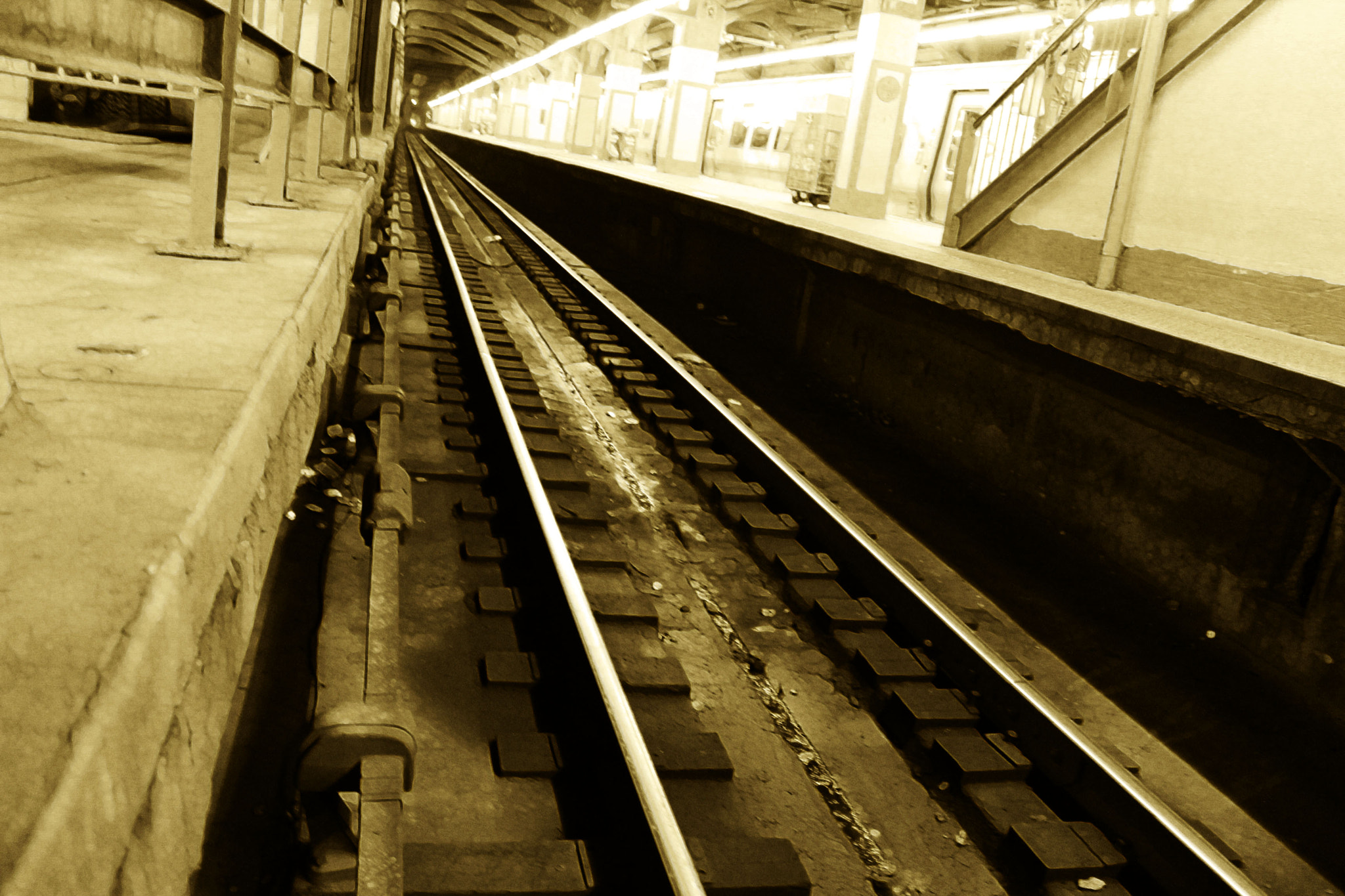 Photograph Empty Tracks: Where would you like to go today? by Christine Skulevold on 500px