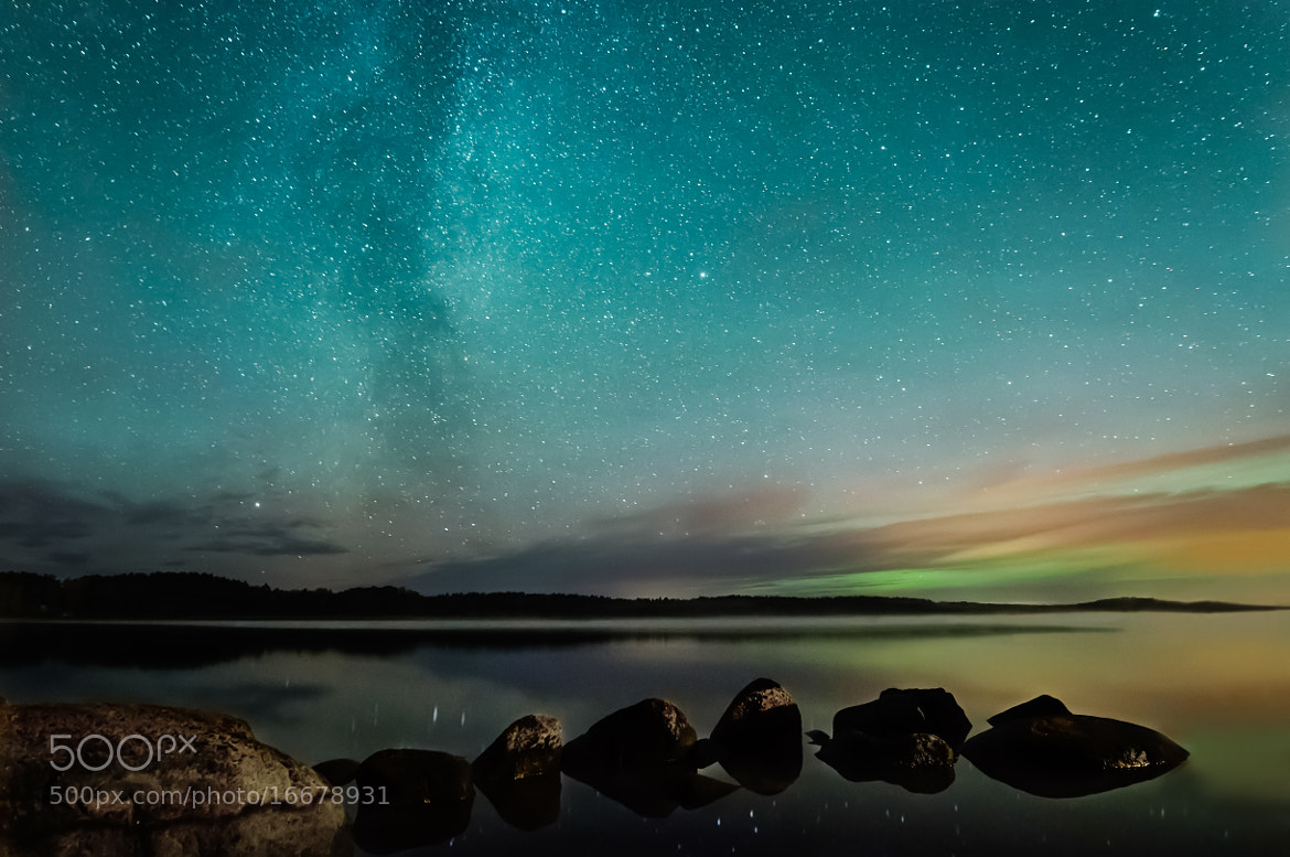 Photograph Milky Way by Riku Toivonen on 500px