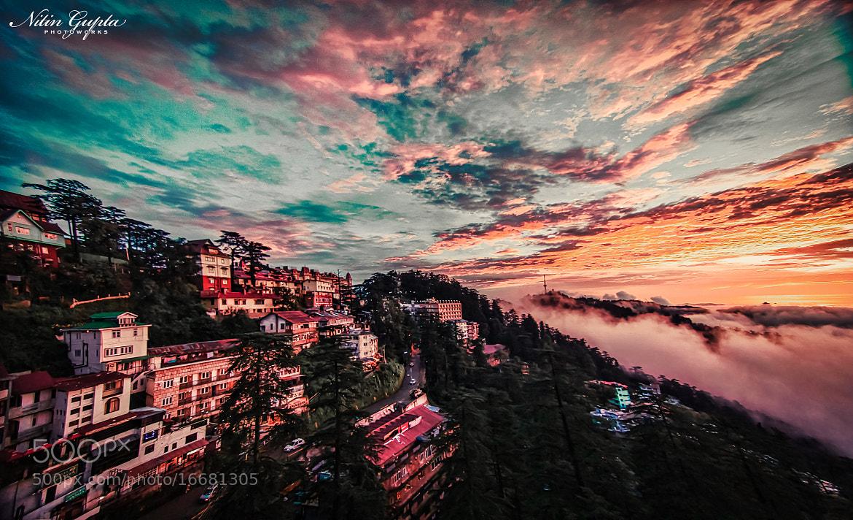 Photograph The Serene Sunset at Shimla by Nitin Gupta on 500px