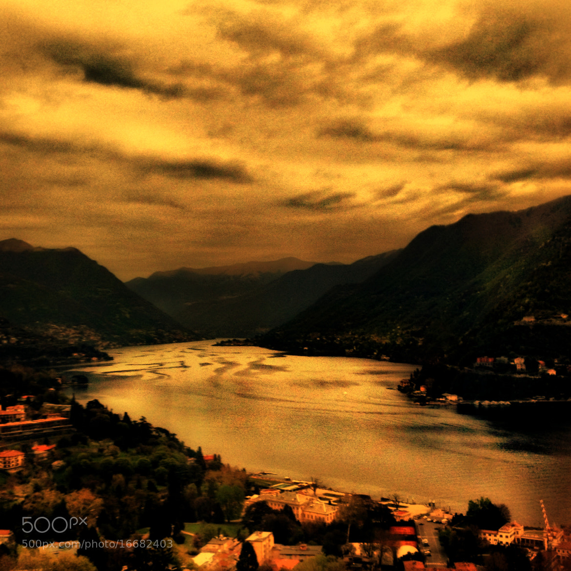 Photograph Como at sunset. by michele  tortorici on 500px