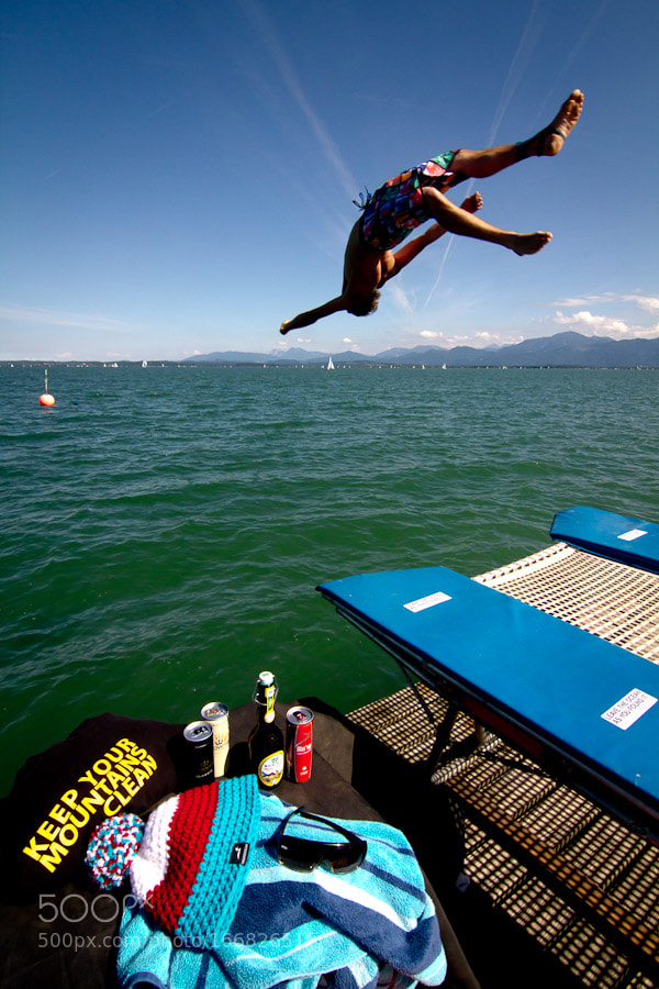 Photograph BOUNCE'N DIVE: SnowFront's get-together in Summer 2012 by Snow Front on 500px