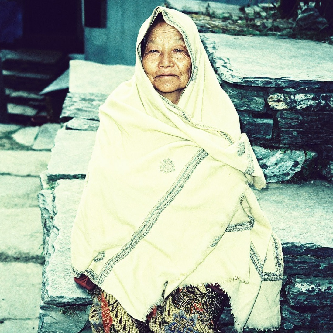 Photograph Old lady from Ghorepani by Mun Keat Lee on 500px