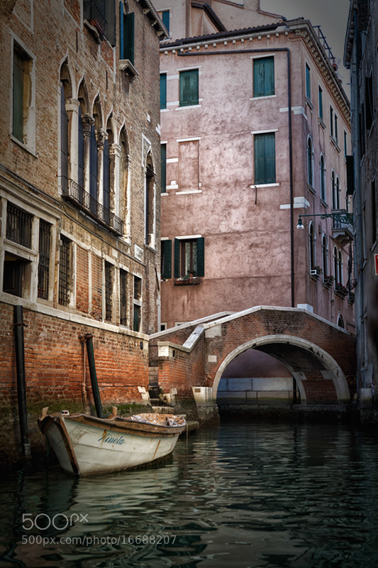Photograph Venice Canal by Andreas Politis on 500px