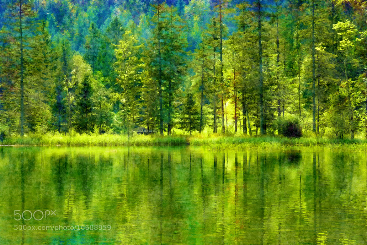 Photograph Emerald Waters by Alfred Pilar on 500px