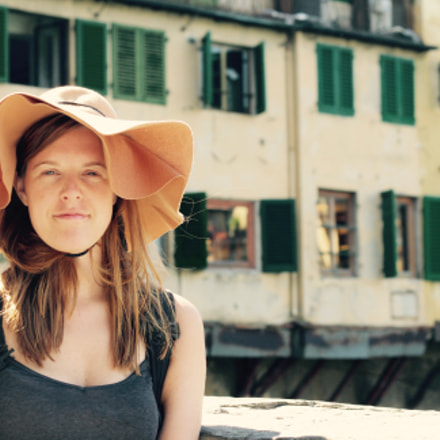 Me in Firenze, Canon EOS 1000D