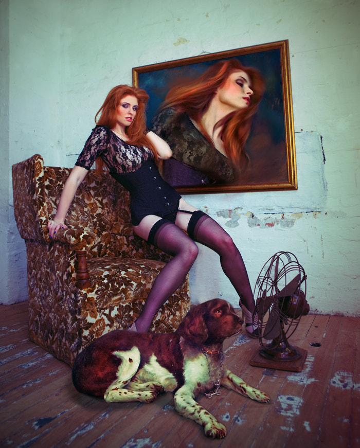 Photograph She took the dog out by Miss Aniela on 500px