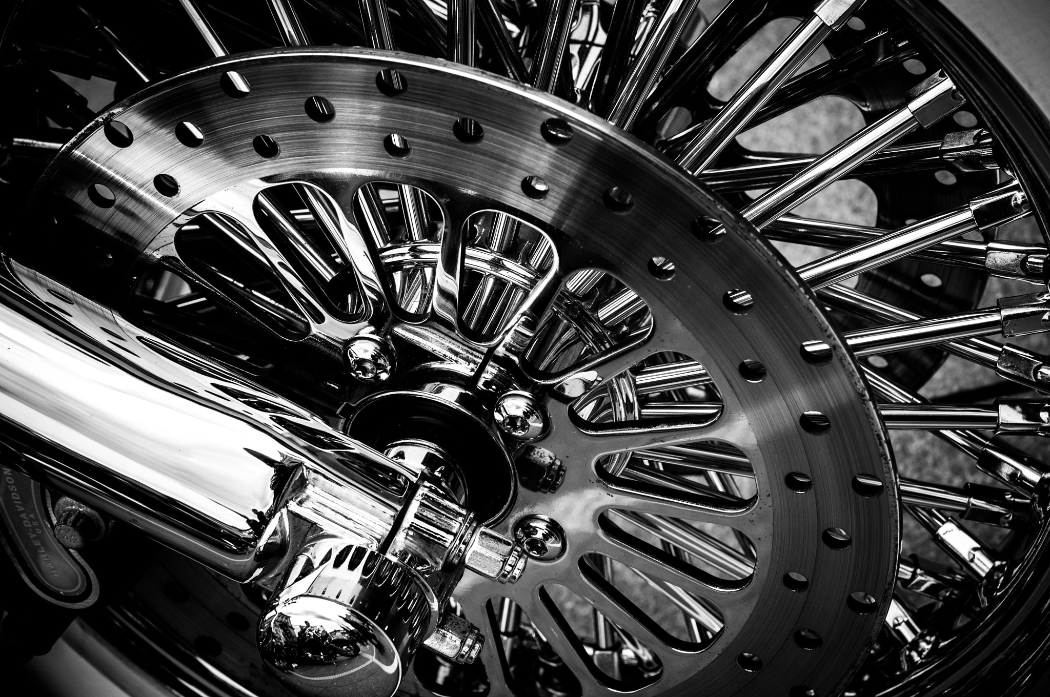 Photograph Chrome bike wheel by Paul McMahon on 500px