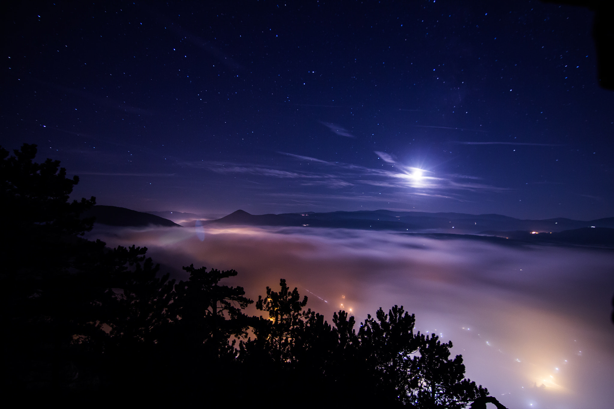 Photograph Lights and Fog by Domi Nagl on 500px