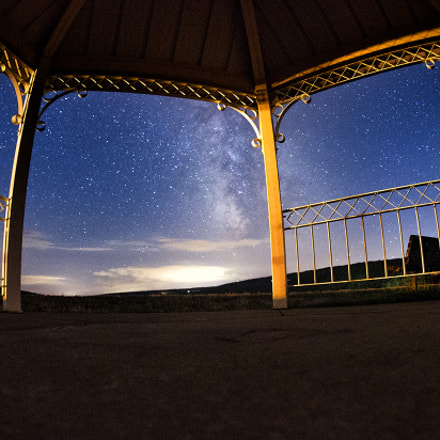 Milky Way Front Porch, Canon EOS-1D X, Canon EF 15mm f/2.8 Fisheye